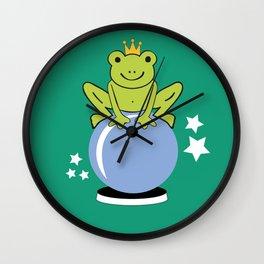 Hocus pocus - green Wall Clock