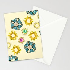 hippie butterfly Stationery Cards