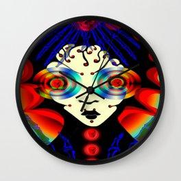 boney big eyes Wall Clock