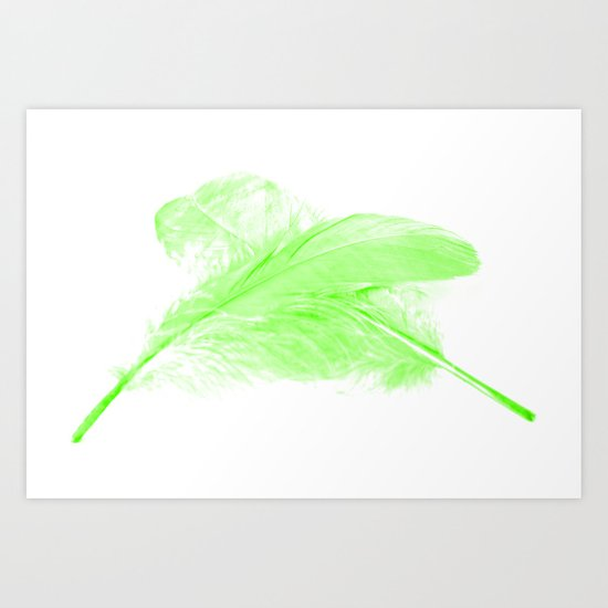 Green Ghost Art Print