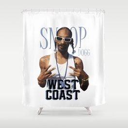Snoop Dogg // West Coast Shower Curtain