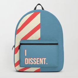 RBG Dissent Print Backpack