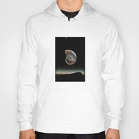 dark side of the moon Hoodies featuring DARK SIDE OF THE MOON by Mitch Meseke