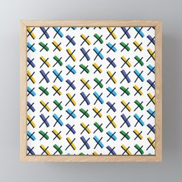 Accent Exes Framed Mini Art Print