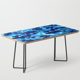 Camouflage (Blue) Coffee Table