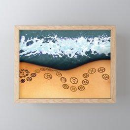 Gears Framed Mini Art Print