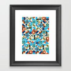 Nirmana Pattern Framed Art Print