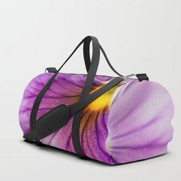 Purple Pansy Flower Close-up #decor #society6 #buyart Duffle Bag