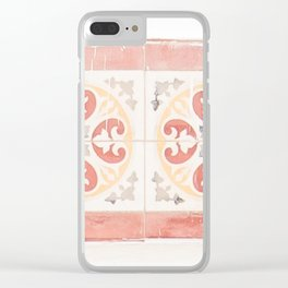 Zellige Tiles of Morocco Clear iPhone Case
