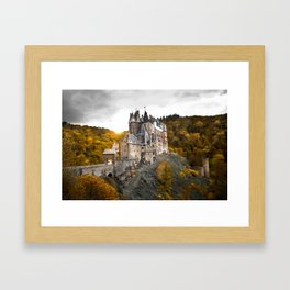 Castle in the Woods 1 Framed Art Print