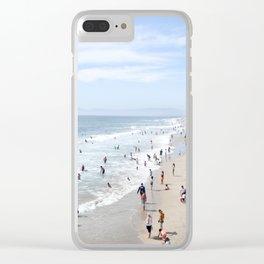 manhattan beach Clear iPhone Case