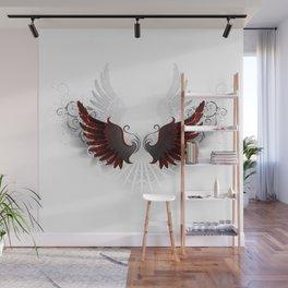 Black Wings Wall Mural
