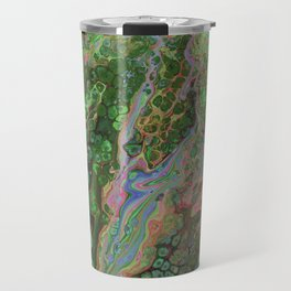 Green Inverted Pour 6 Travel Mug