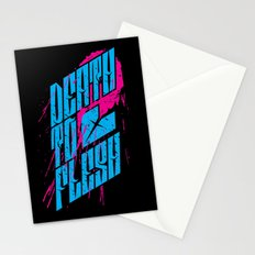 Death to Flesh Stationery Cards