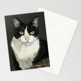 Cat Eightball Stationery Cards
