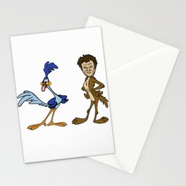 Roadrunner and John C. Reilly Coyote Stationery Cards