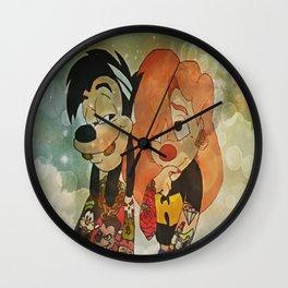 Goof Troop Love Wall Clock