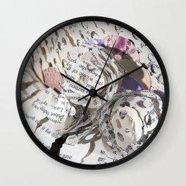 Emil and La Vie En Rose II Wall Clock