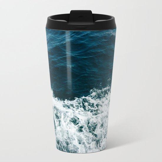 Ocean Crush Metal Travel Mug