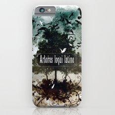 arbores loqui latine Slim Case iPhone 6