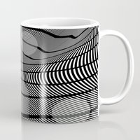 mid century Mugs featuring Mid-Century Mod 2 by Patti Toth McCormick