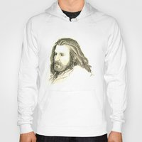 thorin Hoodies featuring Thorin Oakenshield by Zalazny