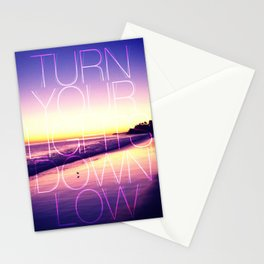 Lights out Stationery Cards
