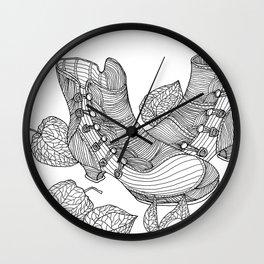 shoe love 1 Wall Clock