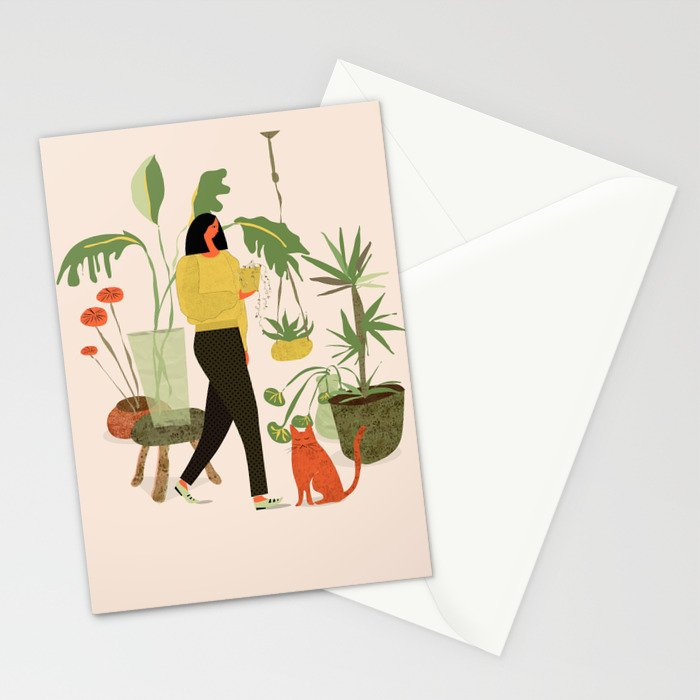 Migrating a Plant Stationery Cards