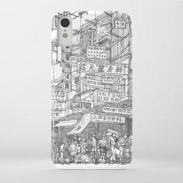 Hong Kong. Kowloon Walled City iPhone Case