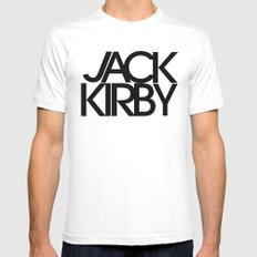 Classic : Jack Kirby Mens Fitted Tee White SMALL