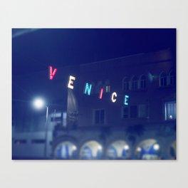 Venice Beach Sign Canvas Print