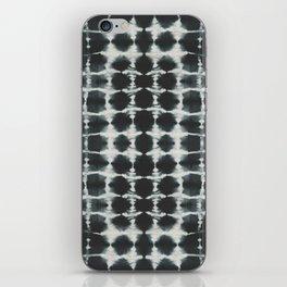 Black Shibori iPhone Skin