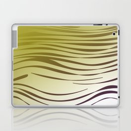 gold wild lines ethnic Laptop & iPad Skin