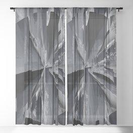 Glitch 8 Sheer Curtain