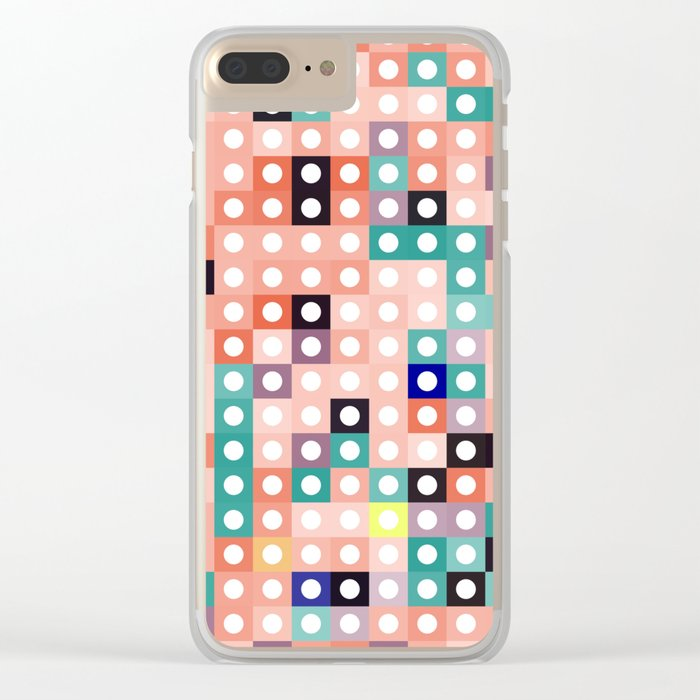 square dance Clear iPhone Case