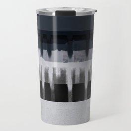 White Wash, Dark Alleys, Blue Wharf Travel Mug
