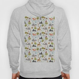 Funny Forest Map Hoody
