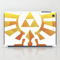 triforce iPad Cases featuring Triforce by Wicttor