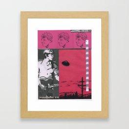 Collage #13 (Handling Noforn) Framed Art Print