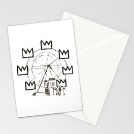 Ferris Wheel, Banksy Pays Tribute To Jean-Michel Basquiat, Artwork, Tshirts, Posters, Bags, Prints, Stationery Cards