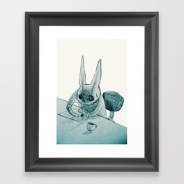 another bunny Framed Art Print