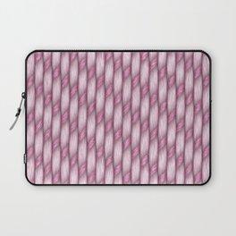 Pink Cross Weave Texture Laptop Sleeve