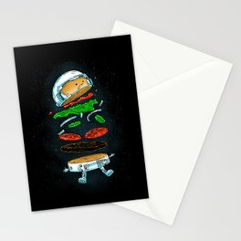 The Astronaut Burger Stationery Cards