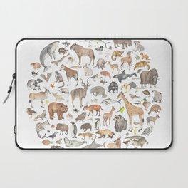 100 animals Laptop Sleeve