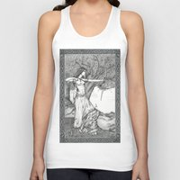 archer Tank Tops featuring Archer by Laura-A