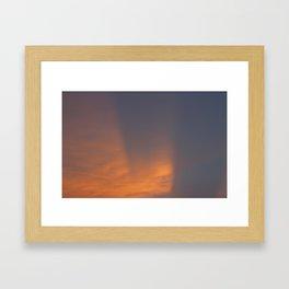 Immersed in Light Framed Art Print