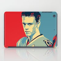 blackhawks iPad Cases featuring Towes One Goal by Thousand Lines Ink