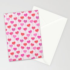 Heart Suckers Stationery Cards