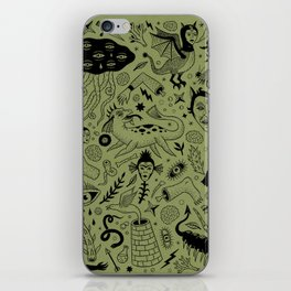 Curious Collection No. 2  iPhone Skin